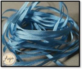 ZL-519 Oud blauw zijdelint
