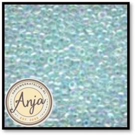 02017 Glass Seed Beads Crystal Aqua