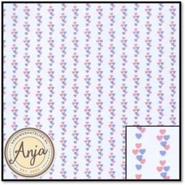 WP630 Hearts Pink Lilac