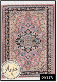 DIY317J Turkish Rug Pink