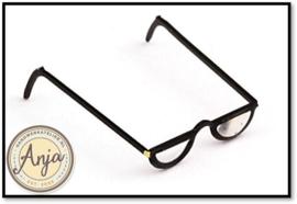 FA71019 Leesbril, zwart