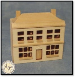 D386 houten poppenhuis
