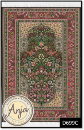 D699C Turkish Carpet Green