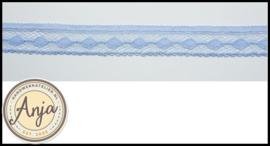 Kant blauw elastisch KT0420-2