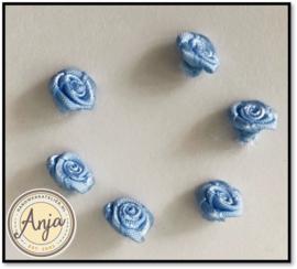 Roosjes Blauw per zes