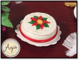 4277 Versierde Kerstcake