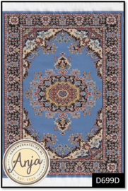 D699D Turkish Carpet Light Blue