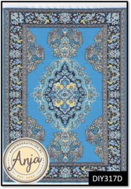 DIY317D Turkish Rug Light Blue
