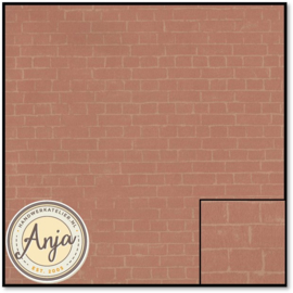 8169 Light Red Brick Paper