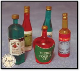 D1751 Alcoholische dranken per vijf