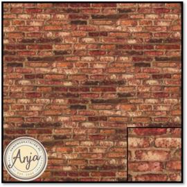 879891 Imitation Briques Marron