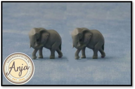 D89612 Twee olifanten