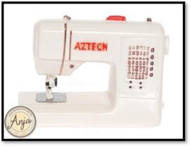 T8472 Moderne naaimachine wit