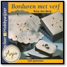 Borduren met verf - Rina ten Berg