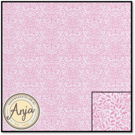 DIY221B Acorns Pink On White