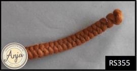RS355 Wolcrêpe kastanje bruin