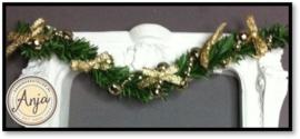 DHP106 Kerstguirlande Goud