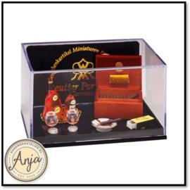 Reutter set met cognac en sigaren