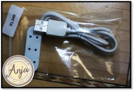 EL340 Stekkerdoos met USB kabel