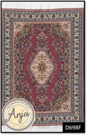 D698F Turkish Carpet Red