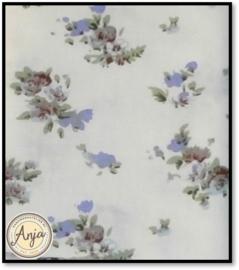 HD1057 Creme met bloemetje