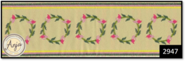 2947 Pink Rose Stair Carpet