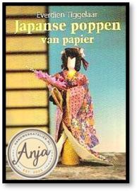 Japans poppen van papier - Everdien Tiggelaar
