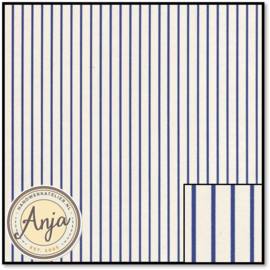 WP1040 Stripe Dark Blue