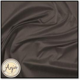 Zijde stof 03 Donker bruin