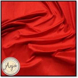 Zijde stof 15 Rood