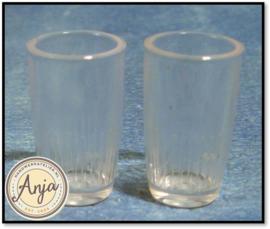 D636 Glazen per twee