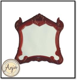 D2492 Spiegel met houten lijst