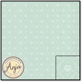 8266 Blue French Toile