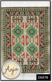 D697B Turkish Carpet Green