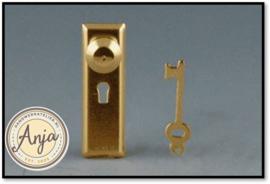 797528 Georgian deurknop per set