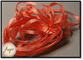 ZL-721 donker Oranje zijdelint