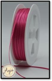 210 Hot Pink Satijnlint 1.5 mm