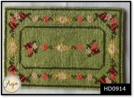 HD0914 Poppenhuis Kleedje - borduurpakket