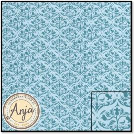 DIY225A Tulip Arabesque Turquoise