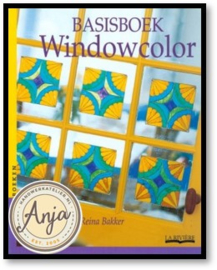 Basisboek Windowcolor - Reina Bakker