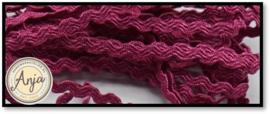 Zigzagband 2,5 mm Cerise