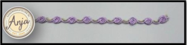 Bloemen band lila B0719-13