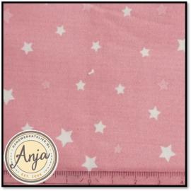 PR5819-04 Roze met wit sterretje