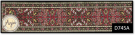 D745A Turkish Stair Carpet Red