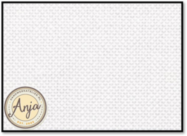14-draads borduurstof wit per halve meter