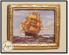5322 - Schilderij Zeilschip