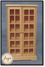 BEF126 Boekenkast blankhout