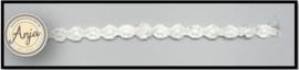Bloemen band lichtblauw-wit B0719-27