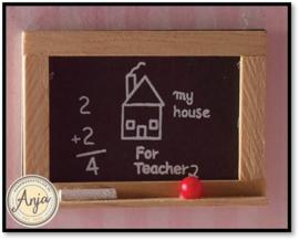 4225 Schoolbord