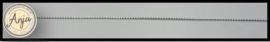 Koord zilver 0,9 mm  K0719-4